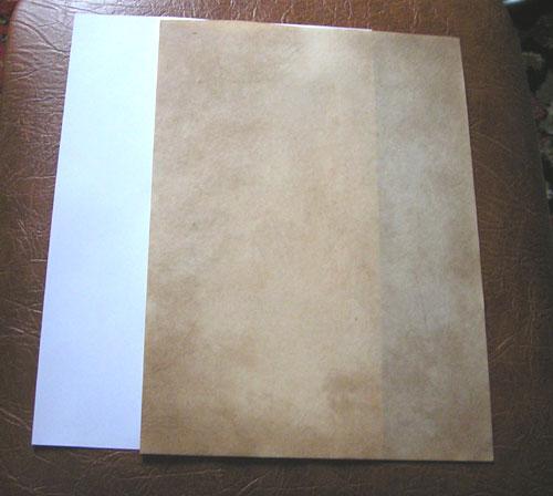 Тонируем бумагу 1338